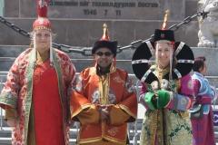 Naadam- tradycyjne, mongolskie stroje